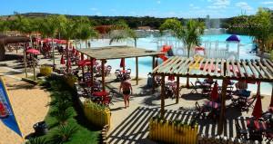 Lagoa Termas Parque e Lagoa Ecopraia em Caldas Novas Goiás