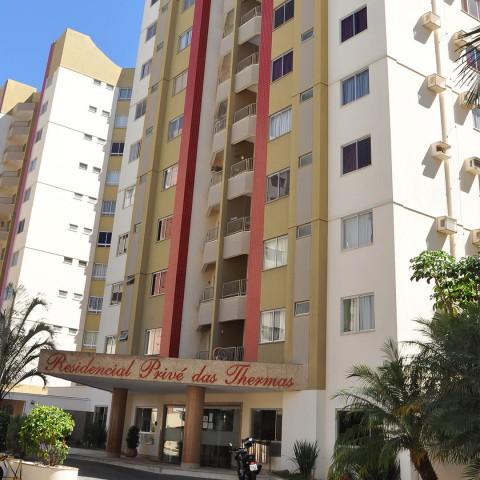 Imagem representativa: Apartamento de dois quartos a venda no Residencial Privê das Thermas I em Caldas Novas